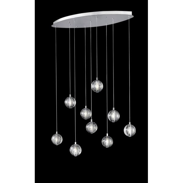 Avivo Bubbles 9 Light Oval Ceiling Pendant
