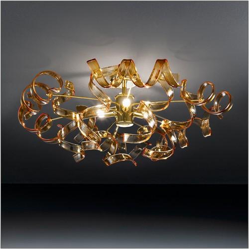 Metallux Astro Semi Flush Ceiling 3 Light - Lighting Your Home